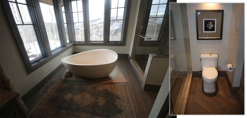 Custome Shower and Bath Tub