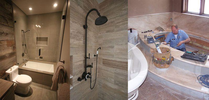 Custom Shower and Bath Install
